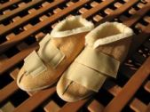 Medical soft Sheepskin slipper